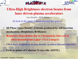 Ultra-High Brightness electron beams from laser driven plasma accelerators