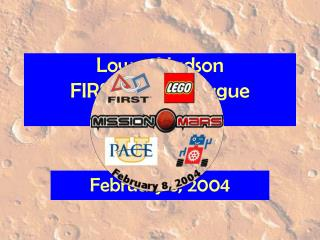 Lower Hudson FIRST LEGO League Mission Mars…