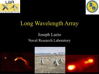 Long Wavelength Array
