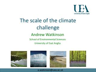 The scale of the climate challenge