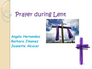 Prayer during Lent