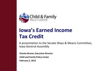 Iowa's Earned Income  Tax Credit