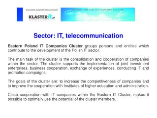 Sector: IT, telecommunication