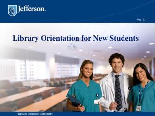 Library Orientation for New Students