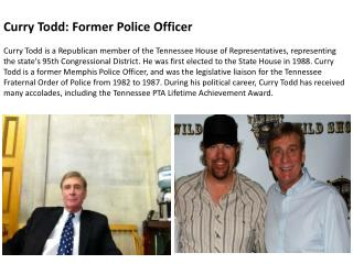 Curry Todd: Former Police Officer