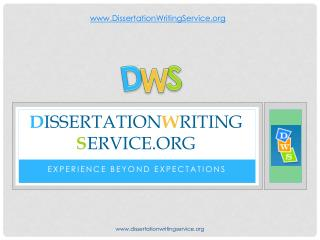 Dissertation Writing Service Beyond Your Expectations