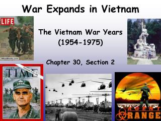War Expands in Vietnam