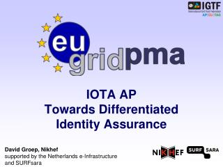 IOTA AP Towards Differentiated  Identity Assurance