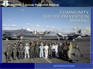 NGB/HC     Suicide Prevention Briefing