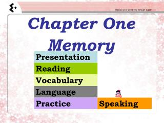 Chapter One Memory
