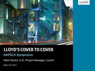 Lloyd's cover to cover