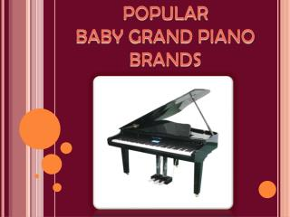 Popular Baby Grand Piano Brands