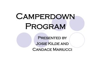 Camperdown Program