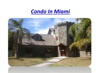 Condo In Miami