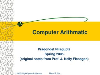 Computer Arithmatic