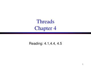Threads Chapter 4