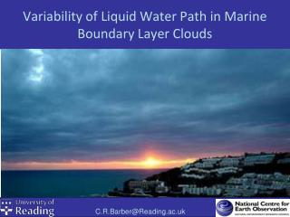 Variability of Liquid Water Path in Marine Boundary Layer Clouds