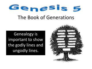 The Book of Generations