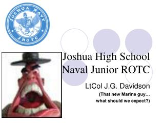 Joshua High School Naval Junior ROTC