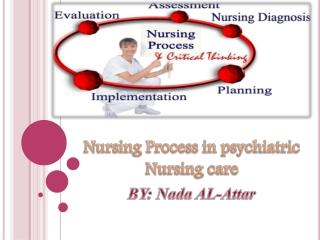 Nursing Process in psychiatric Nursing care BY: Nada AL-Attar