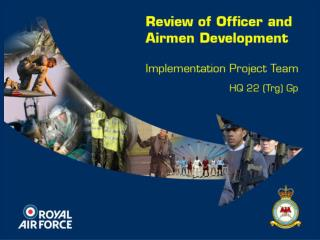 The Introduction of Professional  Military Development (AIR) PMD(A)