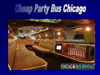 Cheap Party Bus Chicago