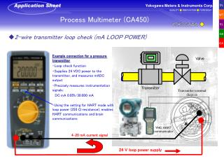 Process Multimeter (CA450)