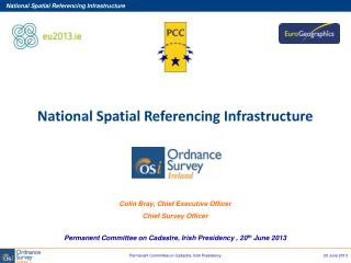 National Spatial Referencing Infrastructure Colin Bray, Chief Executive Officer