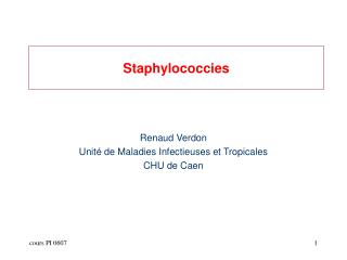 Staphylococcies