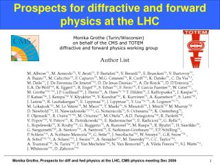 Prospects for diffractive and forward physics at the LHC