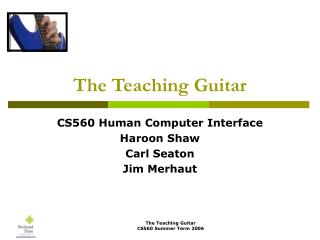 The Teaching Guitar