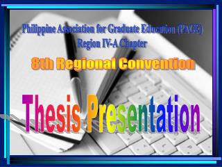 Philippine Association for Graduate Education (PAGE) Region IV-A Chapter