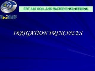 IRRIGATION PRINCIPLES