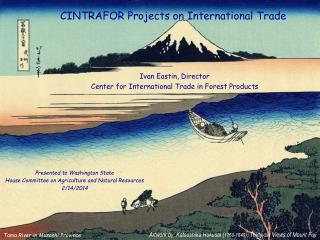 CINTRAFOR Projects on International Trade