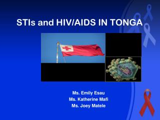 STIs and HIV/AIDS IN TONGA