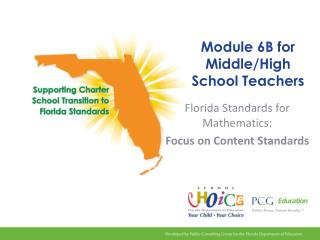 Module 6B for Middle/High School Teachers