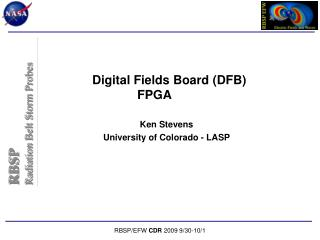 Digital Fields Board (DFB) FPGA