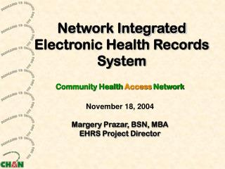 Network Integrated Electronic Health Records System