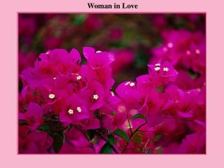 Woman in Love