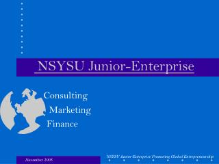 NSYSU  Junior-Enterprise