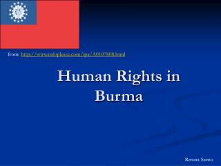 Human Rights in Burma