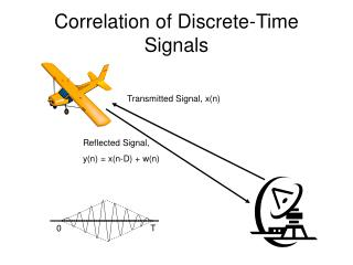 Correlation of Discrete-Time Signals