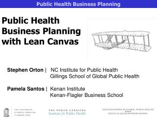 Public Health Business Planning with Lean Canvas