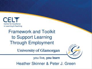 Framework and Toolkit to Support Learning Through Employment