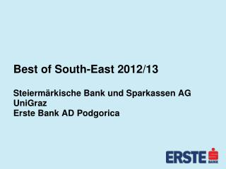 Best of South-East  2012/13