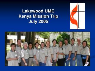 Lakewood UMC Kenya Mission Trip July 2005