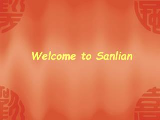 Welcome to Sanlian