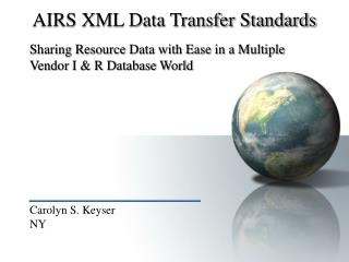 AIRS XML Data Transfer Standards