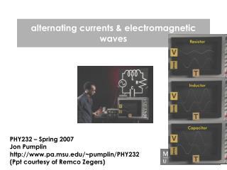 alternating currents & electromagnetic waves