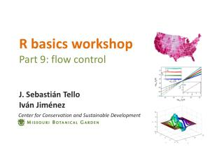 R basics workshop Part 9: flow control